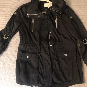 BCBGeneration rain black slim jacket.